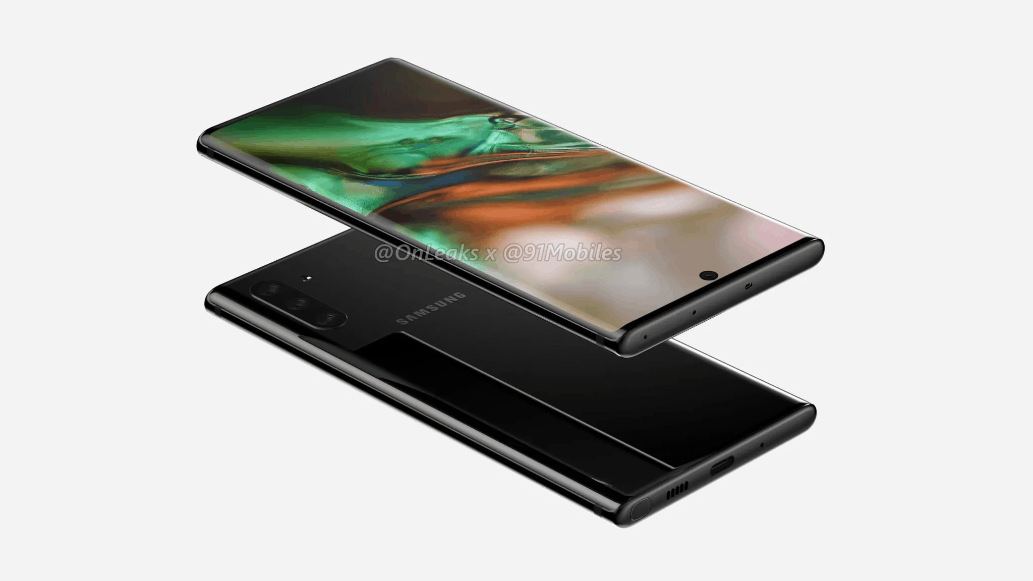 Samsung Galaxy Note 10 - OnLeaks